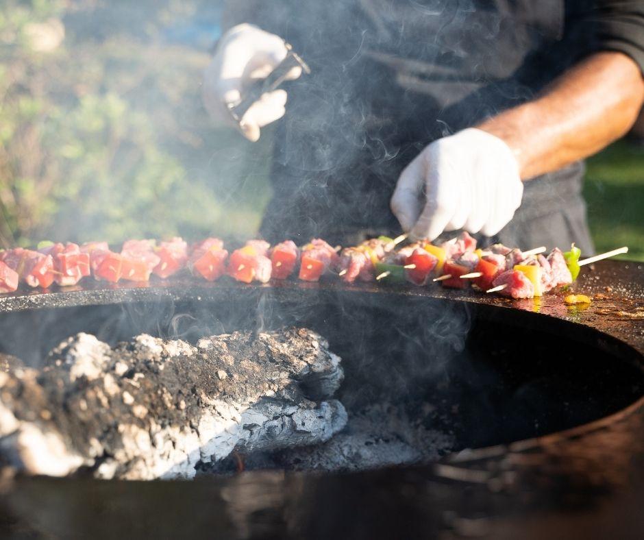 Barbecue - Le Parc des Vallières