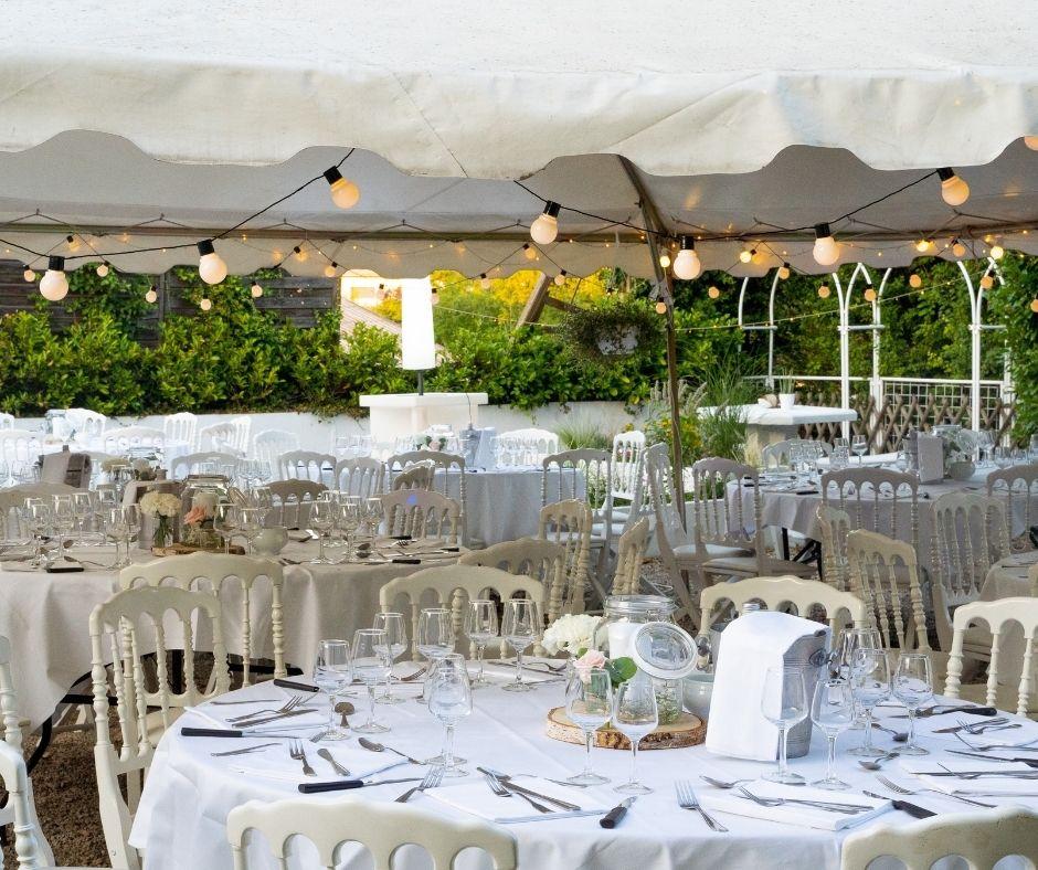 Décorations mariages - Le Parc des Vallières